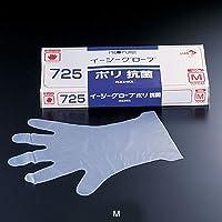 オカモト イージーグローブ ポリ 抗菌手袋 No.725(ポリエチレン製抗菌剤入) M(100枚入) 全長29cm