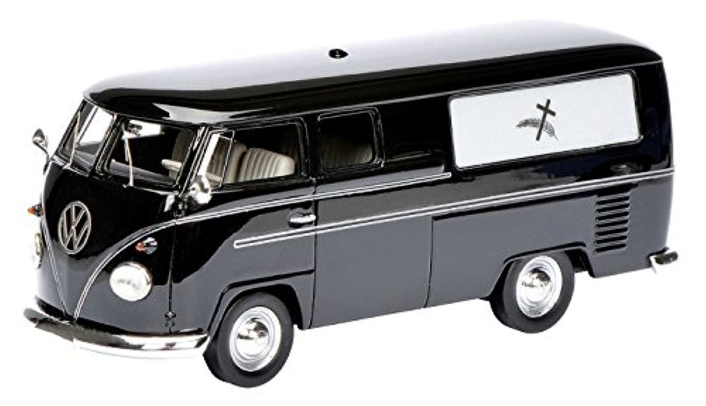 シュコー 1/43 VW T1 霊柩車 完成品