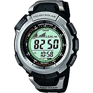 [カシオ]CASIO 腕時計 PROTREK プロトレック Super Sim Line タフソーラー 電波時計 MULTI BAND5 PRW-1300J-1JF メンズ