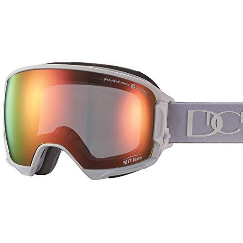 【国産ブランド】DICE(ダイス) スキー スノーボード ゴーグル ハイローラー 剥がれない MITミラー 偏光 プレミアムアンチフォグ HR80892MAW