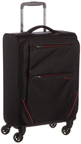 [ヒデオワカマツ] スーツケース フライII 超軽量ソフトキャリー 容量26L 縦サイズ55cm 重量1.9kg 85-76001 1 ブラック ブラック