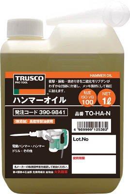 TRUSCO ハンマーオイル1L TOHAN