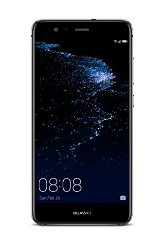 Huawei 5.2型 P10 lite SIMフリースマートフォン ミッドナイトブラック 【日本正規代理店品】 P10 LITE/WAS-L22J/MI