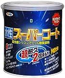アサヒペン ペンキ 水性スーパーコート 水性多用途 ミルキーホワイト 1.6L