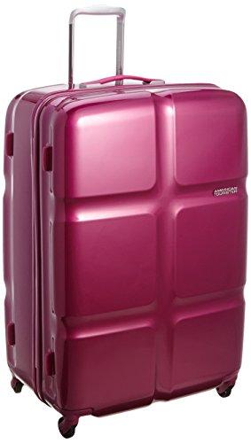 [アメリカンツーリスター] AmericanTourister Cube POP / キューブポップ スピナー79 (79cm/119L/5.0Kg) (スーツケース・キャリーバッグ・TSAロック・大容量・軽量・ファスナー・保証付き) S46*80003 80 (フーシャ)