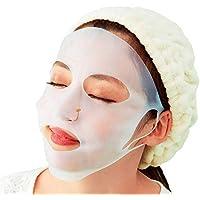 メトリックス(Metrics) シリコン フェイスマスク (ダブル耳掛け2サイズ) 透明 立体形状で 顔にフィット ro
