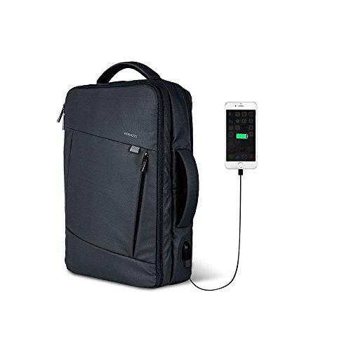 ビジネス リュック バッグ 3WAY 手提げ ROMOSS USB 充電ポート PCパソコン バックパック メンズ レディース 通勤 出張 多機能 BP01 Black
