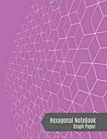 Hexagonal Graph Notebook: Hexagons Composition Notebook (Radiand Orchid Violet Cover) - Small Hexagonal Graph Paper, 100 Pages 1/4 inch, 8.5 x 11 Inches - Lab Chemistry, Biochemistry Journal, Organic Chemistry and Notebook for Science.