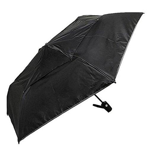 (トゥミ) TUMI トゥミ 傘 TUMI 14415 D ミディアム オートクローズ アンブレラ 折りたたみ傘 BLACK [並行輸入品]