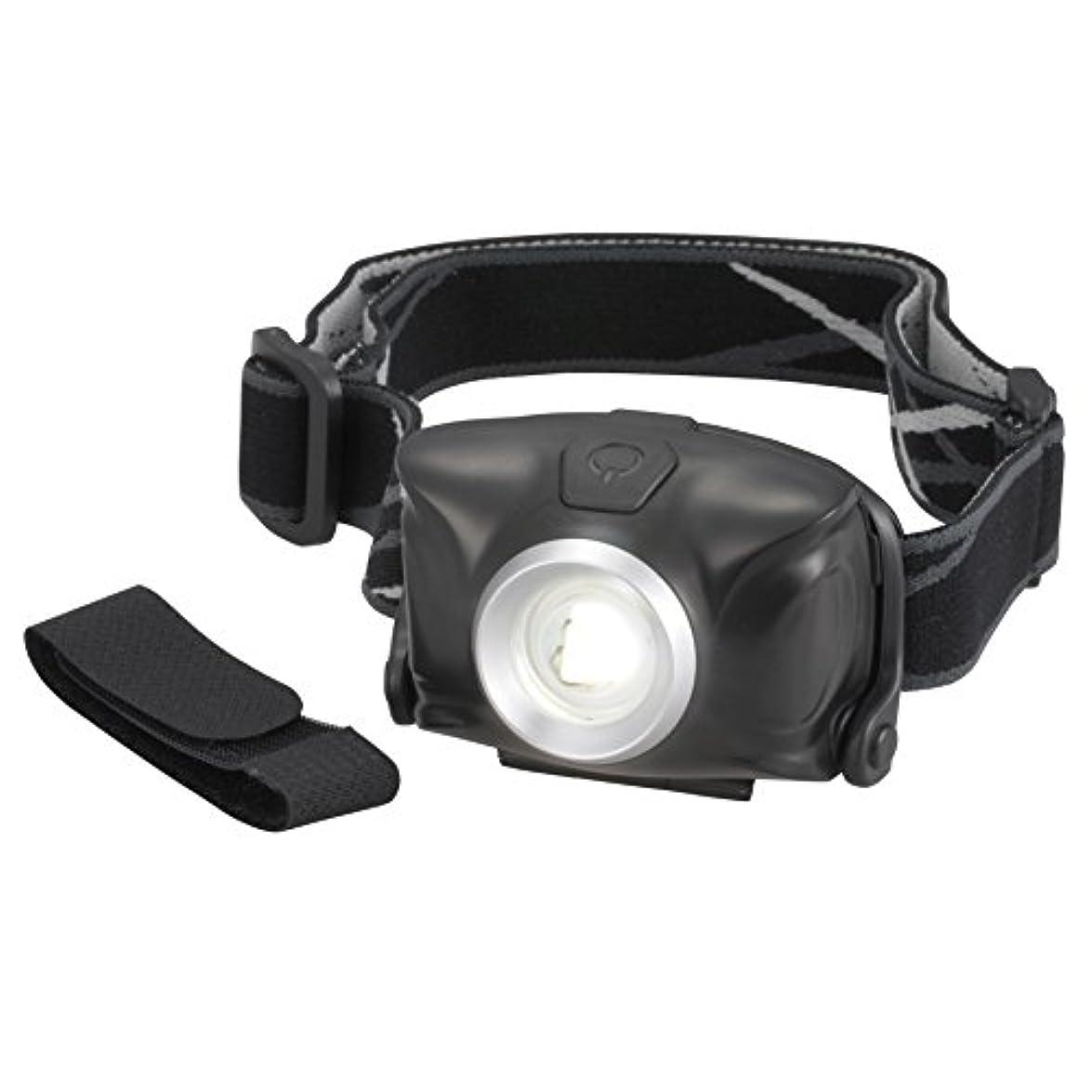 カメラ毎月徹底的にオーム電機 リュックバンド付 LEDヘッドライト 単4形*3本使用 ブラック LED-YH9-K LED-YH9-K