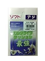 人徳丸(JINTOKUMARU) ロングライフクッション ソフト 1.0mm 30cm 2入