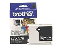 lc51bk Brother International Corporatインクカートリッジ–ブラック–500ページat 5のカバレッジ–mfc-240C