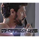 MANGROOMER New Advanced Professional Plus+ Nose Trimmer, Ear Hair Trimmer & Eyebrow Trimmer With Bonus Light & Trimming Comb!