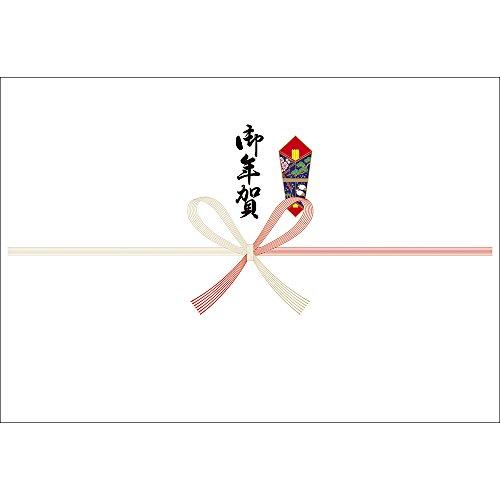 OA対応のし紙 熨斗紙 半紙判 祝 京 御年賀 2-925 1セット 500枚:100枚×5冊