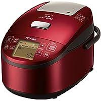 日立 炊飯器 5.5合 圧力スチームIH式 3段階炊き分け機能搭載 高伝熱 打込鉄・釜 おいしい少量炊き 蒸気カット RZ-AV100M R