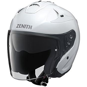ヤマハ(YAMAHA) バイクヘルメット ジェット YJ-17 ZENITH-P パールホワイト 90791-2319M M (頭囲 57cm~58cm)