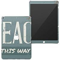 igsticker iPad Air 10.5 inch インチ 対応 全面スキンシール apple アップル アイパッド 専用 2019 第3世代 A2123 A2152 A2153 A2154 シール フル タブレットケース ステッカー 保護シール 010428 英語 看板 レトロ