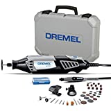 Dremel 4000 Rotary Tool 175W Multi Tool Kit (3 Attachments, 36 Accessories, Variable Speed 5,00035,000 RPM for Cutting, Carving, Sanding, Drilling, Polishing, Routing, Sharpening, Grinding)