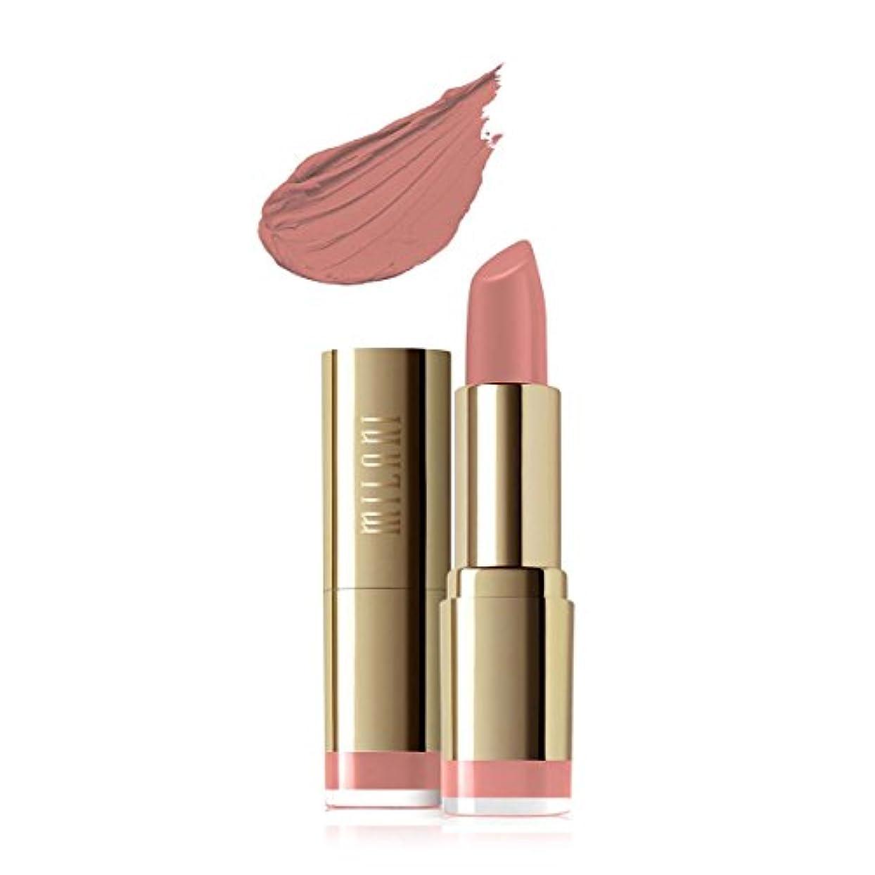 風が強い四半期息子MILANI Color Statement Moisture Matte Lipstick - Matte Naked (Vegan) (並行輸入品)