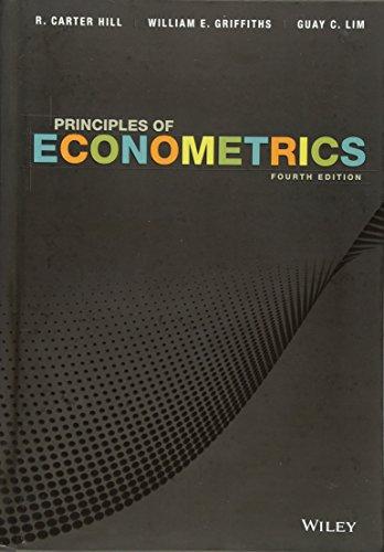 Download Principles of Econometrics 0470626739