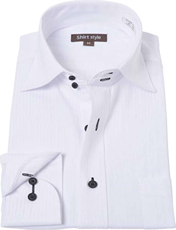 北米参加する私たちのものシャツスタイル(shirt style)ワイドカラーシャツ メンズ スリム S M L LL 3L /ysh-1-123