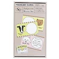ふきだし アニマル[メモリアル 雑貨]BOX付き 寄せ書きカード 色紙