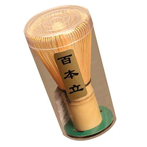【ノーブランド品】竹製 茶筌 抹茶 粉末 泡立て器 ツール 茶道 アクセサリー 75-80...