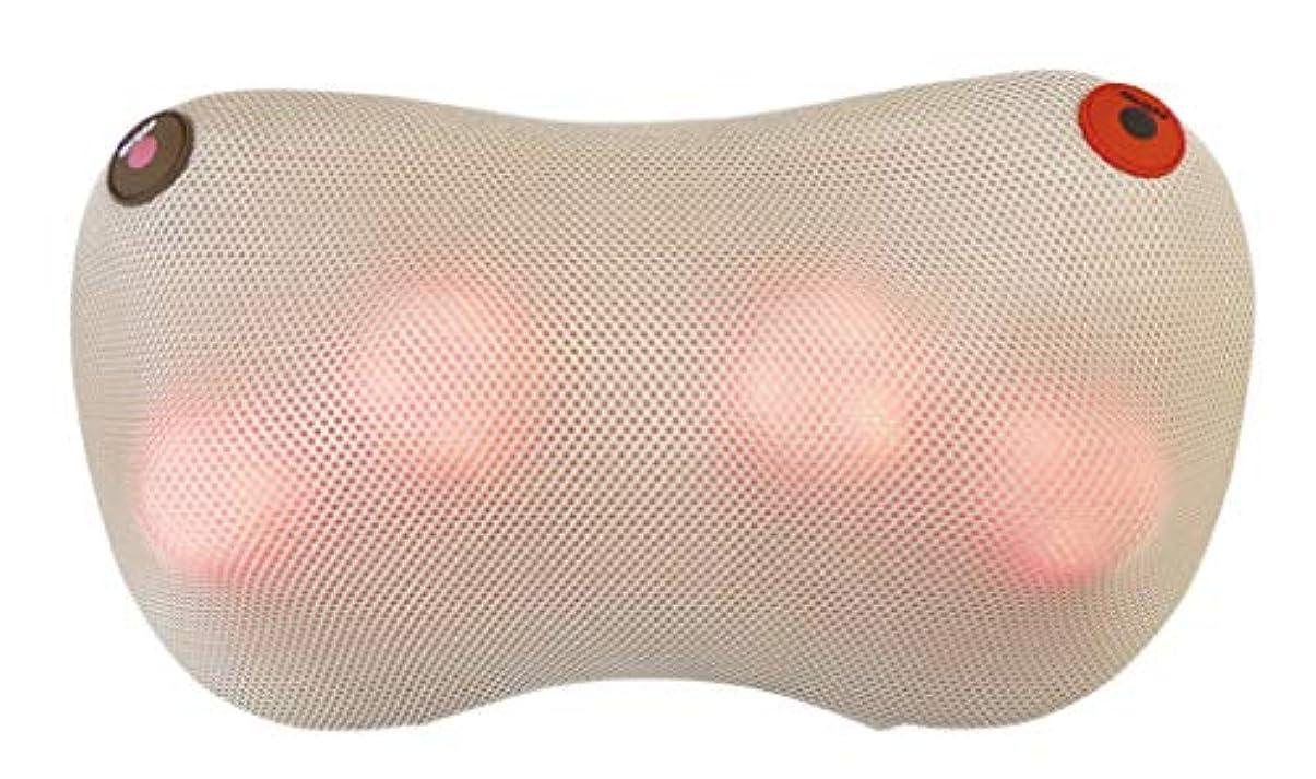 信仰キルス成功するクロシオ 温熱マッサージ器 温もみ ベージュ 肩こり 肩甲骨 マッサージ機 マッサージ枕 医療機器認定品 正規品