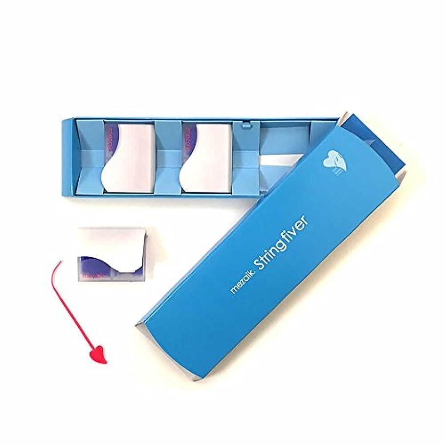 リングレットプロテスタント電気的mezaik String fiver120本×3個セット(メザイク ストリングファイバー)【深くくい込むクッキリ美しいふたえ】