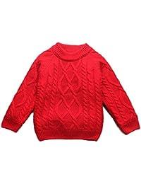 c3d19be21559e Amazon.co.jp  130 - セーター   ガールズ  服&ファッション小物