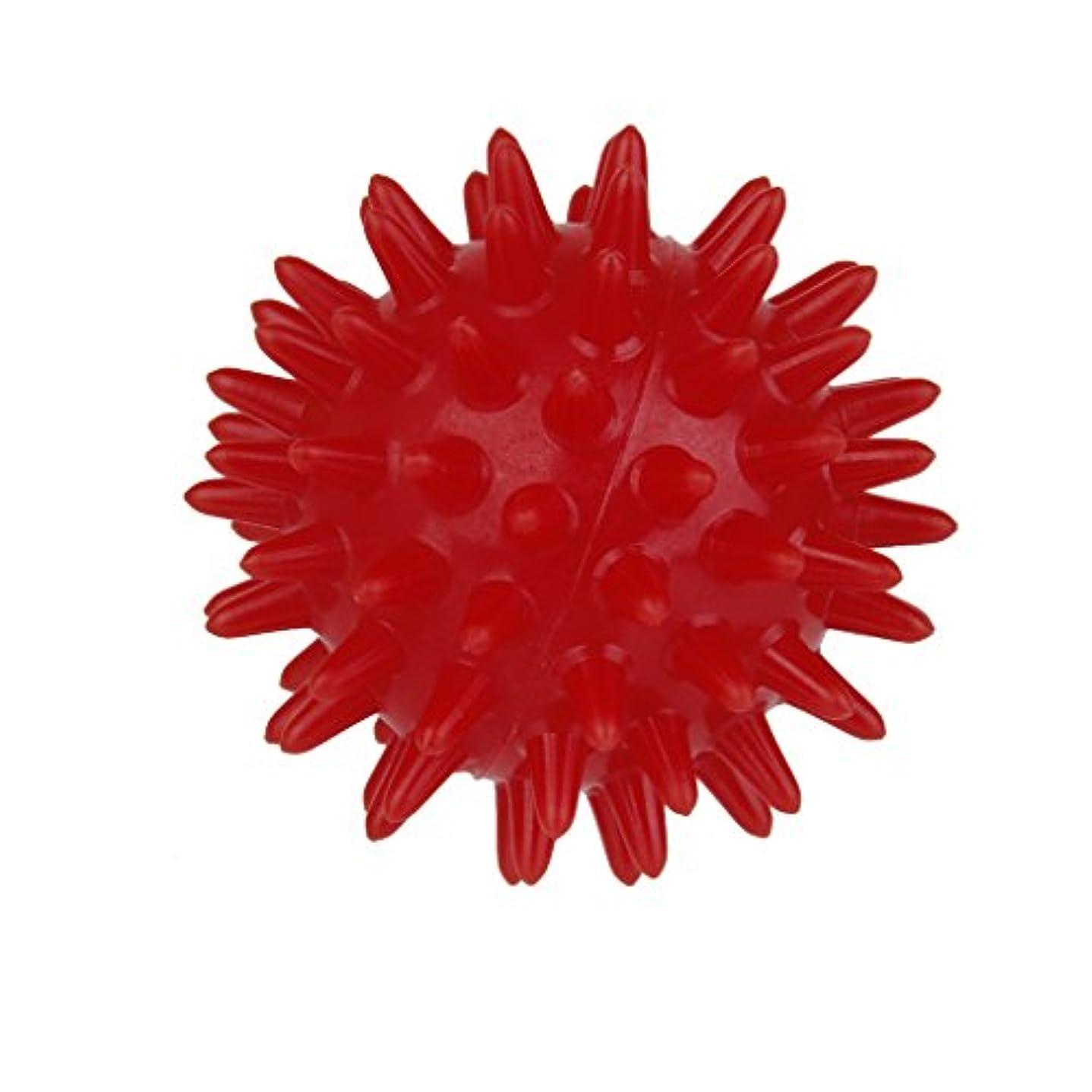 移動する海藻道徳のPerfk マッサージボール 手のひら 足 フック側 マッサージ 快適 生活 便利 赤