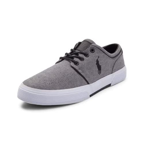 (ポロラルフローレン) Polo Ralph Lauren 靴・シューズ メンズカジュアルシューズ Mens Faxon Casual Shoe by Polo Ralph Lauren Gray Gray US 9.5 (27.5cm)