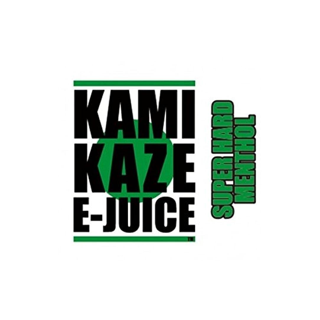 反対したましい暴力KAMIKAZE E-JUICE カミカゼ スーパーハードメンソール SUPER HARD MENTHOL 電子タバコ 日本製国産 リキッド 15ml 3本