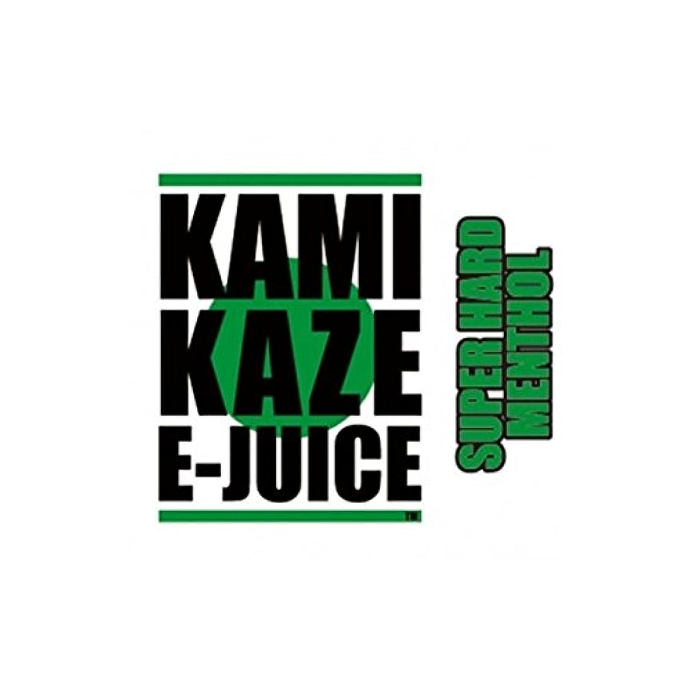 提供された廃棄後方にKAMIKAZE E-JUICE カミカゼ スーパーハードメンソール SUPER HARD MENTHOL 電子タバコ 日本製国産 リキッド 15ml 2本