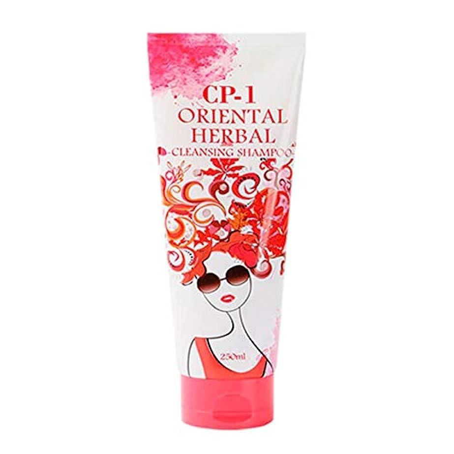 石油虹シャツEsthetic House[エステティックハウス] CP-1 オリエンタルハーブクレンジングシャンプー 250ml (ボリュームアップ&スカルプ健康管理) / Oriental Herbal Cleansing Shampoo