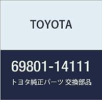 TOYOTA (トヨタ) 純正部品 フロントドアウインドウ レギュレータSUB-ASSY RH スープラ 品番69801-14111