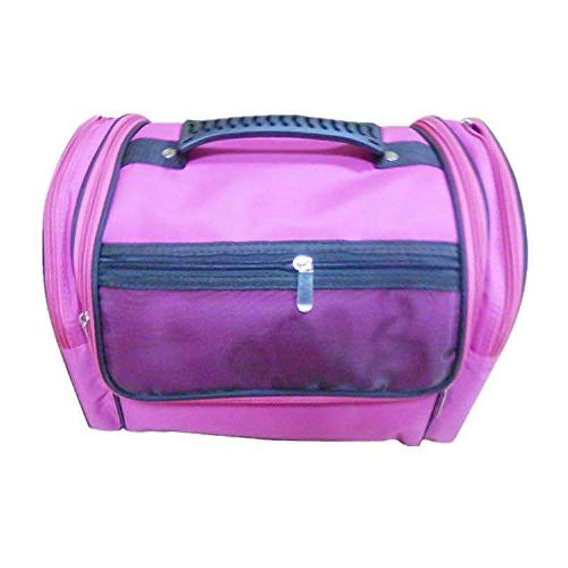 心理的に時代遅れアラブ人化粧オーガナイザーバッグ 高容量カジュアルポータ??ブルキャンバス化粧品バッグ旅行のための美容メイクアップとジッパーで毎日のストレージ 化粧品ケース