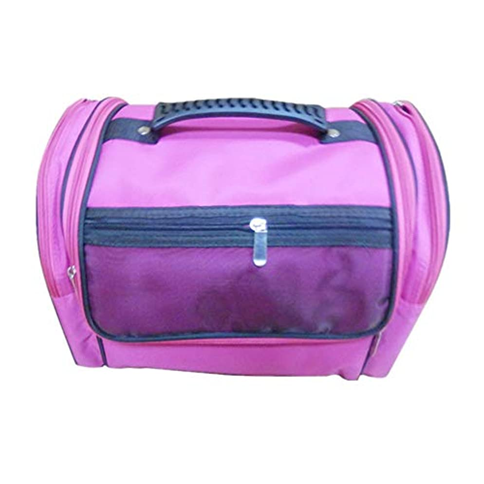 課税収束有限化粧オーガナイザーバッグ 高容量カジュアルポータ??ブルキャンバス化粧品バッグ旅行のための美容メイクアップとジッパーで毎日のストレージ 化粧品ケース