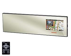 セルスター(CELLSTAR) ASSURA 無線LAN搭載 3.2インチ液晶 GPSミラー型レーダー探知機 270mm平面鏡 日本生産モデルAR-363GM