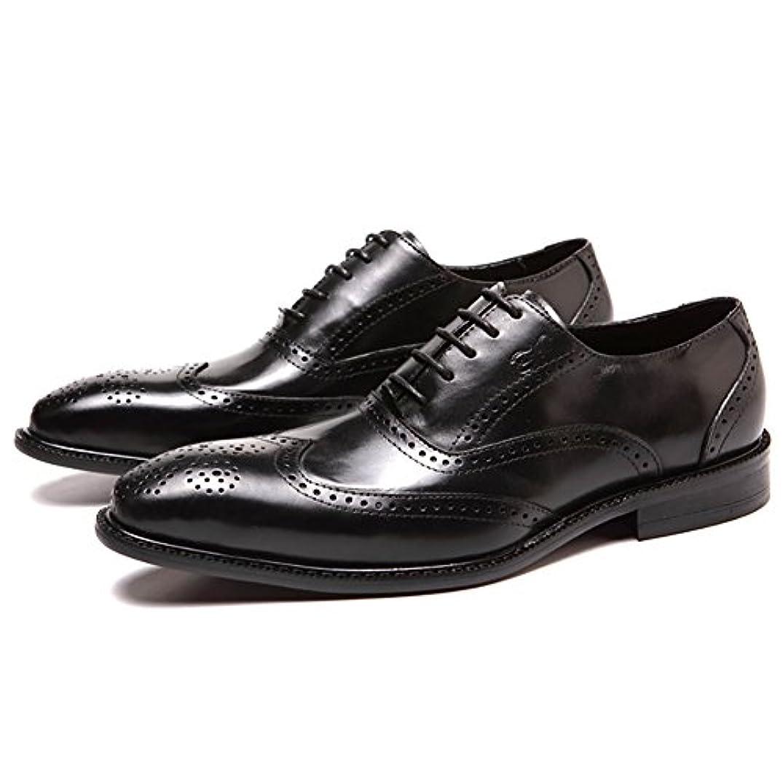 プレビュー手のひらわずかなビジネス シューズ メンズ 通気性抜群 革靴 メンズ オールシーズン 通勤 靴 メンズ