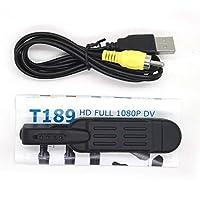 T189フルHD 1080 PミニペンボイスデジタルビデオDVカメラレコーダービデオカメラブラック