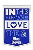 Winning Streak NCAA Duke Blue Devils ユニセックス Duke Home BannerDuke Home バナー ブルー バナー