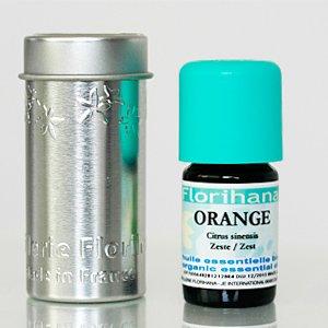 オーガニック エッセンシャルオイル スイートオレンジ 5g(6ml)