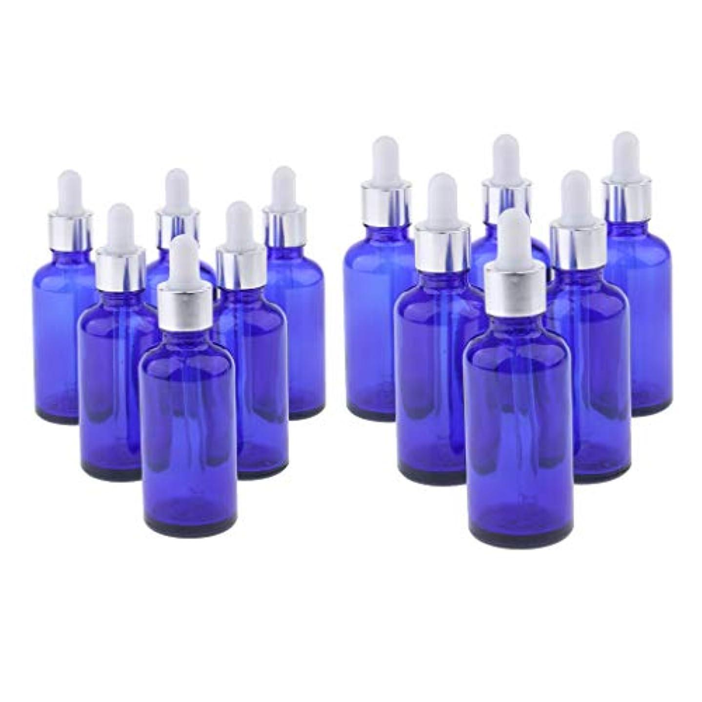 穿孔する生き残ります退屈させる12個 2サイズ 精油ボトル スポイトボトル ガラス エッセンシャルオイル 香水 保存 詰替え