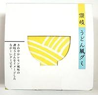 松浦唐立軒 讃岐うどん風グミ レモン味 60g