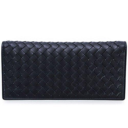 ボッテガヴェネタ BOTTEGA VENETA 財布 二つ折り長財布 メンズ レディース ブラック 244688 V4651 1000