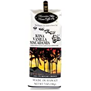 ハワイアンアイルズ コナ コーヒー バニラマカダミアナッツ(7oz)×2 Hawaiian Isles Kona Coffee Vanilla Macadamia Nut