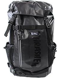 0ad22bf701fc スラッシャー バッグ リュック THRTP502 バックパック かぶせ ダブルベルト サイドメッシュポケット付き デイバッグ リュックサック  THRASHER 男女兼用…