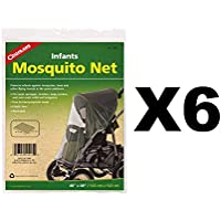 Coghlan 's Infant Mosquito Net for Baby Carriages Strollersバグ/ Insect6パック