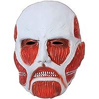 マスク マスクハロウィーンアタック巨人マスクフェイスマスクグリーンラテックスヘッドギア